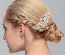 cristal peigne à Cheveux Strass Mariage Accessoires floral COIFFURE 1 pièce