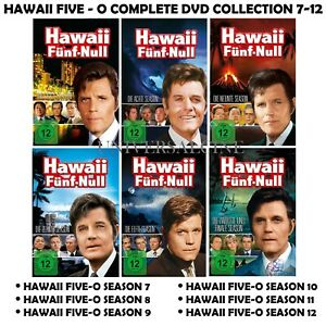 Hawaii 5 Five -O Seasons 7-12 Complete TV Series 7 8 9 10 11 12 NEW REGION 2 DVD