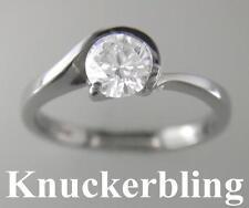 Diamond Solitaire Engagement Ring 2.00ct Brilliant Cut Certified F VS1 Platinum