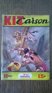 KIT CARSON N°102 IMPERIA 1960