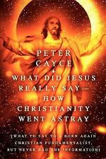What Did Jesus Really Say: How Christianity Went Astray : What to Say to a...