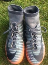 Reduced ***Sock Football Mercurial Boots Size 3 Boys Signed By Gillingham Player