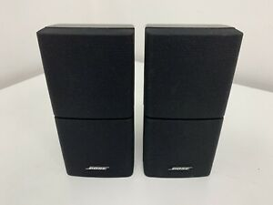 2 x Bose Lifestyle Acoustimass Double Cube Speakers - VGC