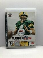 Madden NFL 09 - PlayStation 3 PS3 Game - Complete w/ Manual - Tested Working