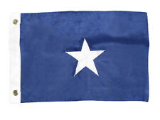 "12x18 Embroidered Sewn Bonnie Blue Star 220D-S Premium Nylon Flag 12""x18"""