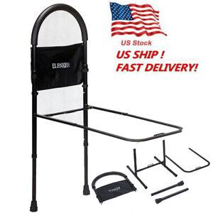 Bed Rails Elderly Adult Seniors Handicap Adjustable Bedrail Safety Guard Aid USA
