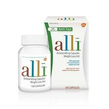 Alli (orlistat) 60mg Weight Loss Aid - Refill Pack 120 Capsules