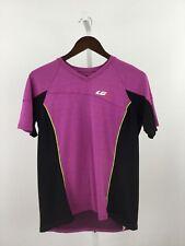 Louis Garneau Womens Size Small Cycling Shirt Purple Black Biking