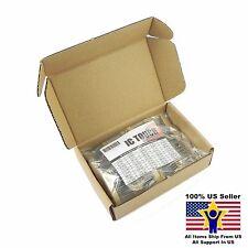 50value 500pcs 1/2W Carbon Film Resistor Assortment Kit US Seller KITB0129