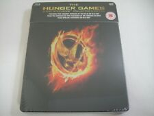 The Hunger Games (2012) - Limited Collector's Steelbook 3-Disc Blu-Ray/DVD | New
