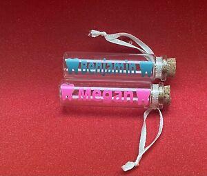personalised tooth fairy Box Storage KeepSake Toothpaste Cork Lid Jar
