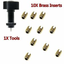 10X Brass Fairing Insert&1X Tools For Harley Touring FLHX 86-18 Touring Models