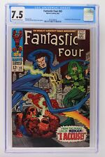 Fantastic Four #65 - Marvel 1967 CGC 7.5 1st Appearance of Ronan the Accuser