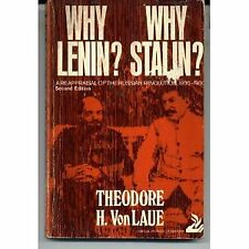 Why Lenin? Why Stalin? a Reappraisal of the Russian Revolution, 1900-1930. (Crit