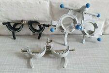 3 montures d'essai Oculus Trial lens frame / ophtalmology, optique, optometry
