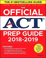 The Official Act Prep Guide by Act Staff (2018, Paperback / Online Resource)