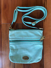 Fossil Modern Cargo Crossbody Messenger Bag Green