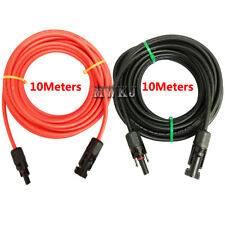 20Meters/Lot 4mm2 Solar Cable-10M Black&10M Red 12AWG Solar Extension Solar Wire