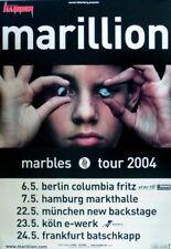 MARILLION - 2004 - Tourplakat - In Concert - Marbles - Tourposter