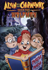 Alvin and the Chipmunks Meet the Wolfman (DVD, 2015)