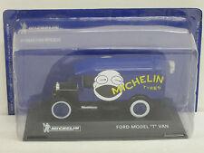 "Ford Model T Van Kastenwagen in blau/schwarz ""Michelin Tyres"", Altaya, OVP, 1:43"