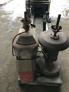 2- Vintage Coats Tire Changer Machine Model 3 And Model 1010