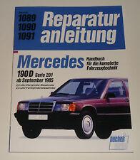 Reparaturanleitung Mercedes W201 190 D Diesel ab Baujahr 1985