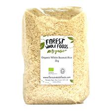 Biologique Blanc Riz Basmati 2kg - Forest Whole Foods
