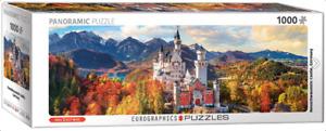 Eurographics 1000 piece jigsaw puzzle NEUSCHWANSTEIN CASTLE IN AUTUMN