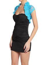 Fashion Secrets Lace Shrug  Bolero Cropped Layering Dress Jacket Colors & Sizes