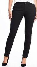 Old Navy Womens Mid-Rise Everyday Khaki Pants Size 10 Tall- Black- NWT