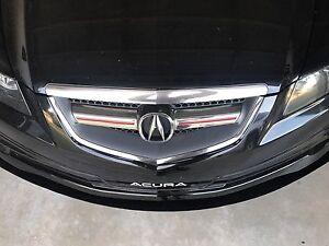 "07-08 Acura TL Type S "" Custom "" Front Bumper Lip Splitter"