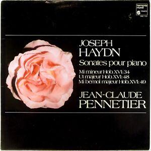 HARMONIA MUNDI 1985 FRANCE Haydn PENNETIER Piano Sonatas HM-1161