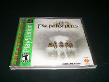 "Final Fantasy Tactics ""Great Condition"" PlayStation Complete PS1 PS2 PS3"