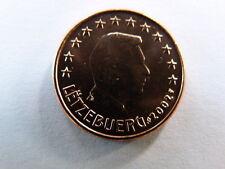 Pièce monnaie EURO LUXEMBOURG LETZEBUERG 5 CENTS 2002 NEUF UNC