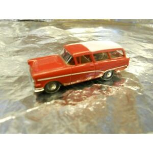 ** Brekina 20020 Opel P1 Motor Vehicle Red with White Roof 1:87 HO Scale