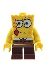 LEGO Genuine Spongebob Squarepants Tongue Out Minifigure NEW RARE