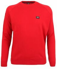PAUL & SHARK YACHTING Pullover Sweater Rundhals Rot Gr. 4XL YACHTING COLLECTION