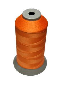 (0,01€/m) Sattlergarn Zwirn 14x2x3 Polyester 1000m orange Ø 0,3mm (5073)