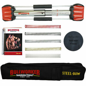 """Bullworker 20"""" 5 Spring SPECIAL EDITION STEEL BOW MMA Total Body Isometric"""