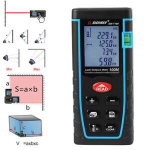 SNDWAY Laser Distance Meter Range Finder Measure Diastimeter Device 40-100M HOT!
