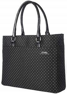 15.6 Inch Women Shoulder Bag Nylon Briefcase Casual Handbag Laptop Tote Bag