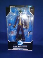 "DC MULTIVERSE THE JOKER BATMAN: ARKHAM ASYLUM 7"" ACTION FIGURE 22 MOVING PARTS"