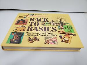 Back To Basics: By Readers Digest VNTG (1981) HC Preppers Guide