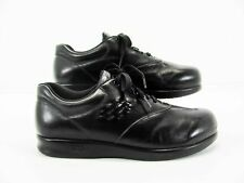 SAS Free Time Women Black Oxford Lace Up Shoe EU 40.5 US 10WWW Pre Owned FI