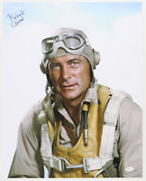 1976-78 Robert Conrad Black Sheep Squadron Signed LE 16x20 Color Photo (JSA)