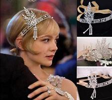 NEW Bridal Great Gatsby 1920s Vintage Style Headpiece Pearls Charleston Headband
