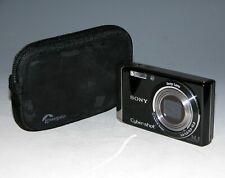 Sony Cyber-shot DSC-W370 14.1MP Digital Camera - Black #9216