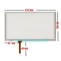 6.2inch Resistive Touch screen Digitizer glass For TM062RDH03 155*88mm