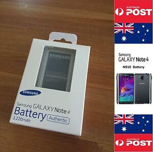 Samsung Note 4 Battery Original Genuine Australian Retail N910 EB-BN910BBE